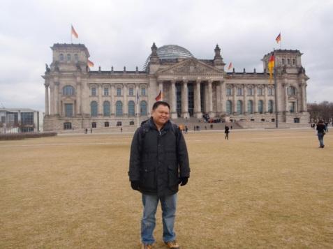 reichstag bldg, berlin