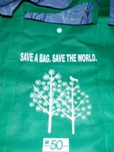 sm green bag