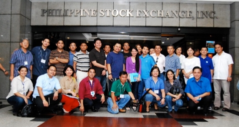 phil. stock exchange group pix