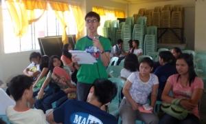 students sharing dier new dreams....